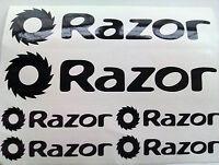 6 X Razor Scooter Stickers Decals Any Colours - razor - ebay.co.uk