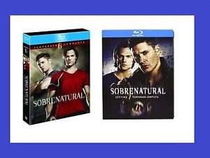 SUPERNATURAL DIE KOMPLETTE SEASON / STAFFEL 6 + 7 * BLU-RAY * MIT DEUTSCHEM TON