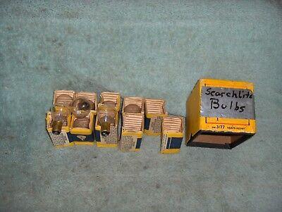 Incandescent Double Contact Bayonet Base (Lot of 10 GE Bulbs #1184 Incandescent 5.5V  RP11 Double Contact Bayonet Base NOS )