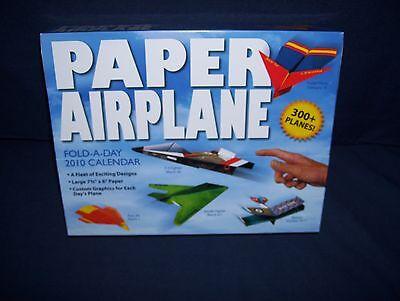 Fold A Paper Airplane (Paper Airplane Fold-A-Day 2010 Calendar)