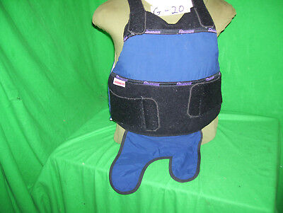 Protecktive Armor Level II Bullet Proof Vest Large- 2004 #G-20- FREE-5X8-Plate