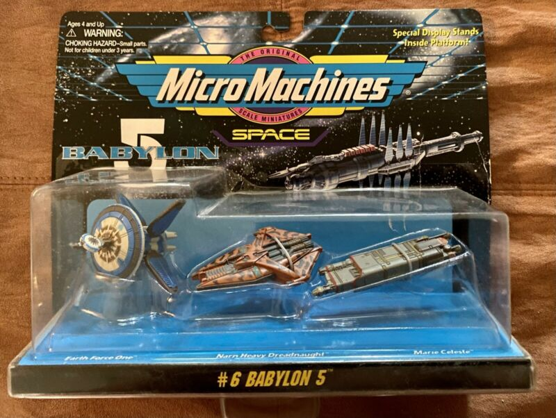 Micro Machines Space Babylon 5 Collection #6 Galoob 1995 NIB