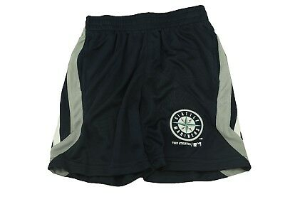 Seattle Mariners Kids Youth Size Shorts Official MLB Merchandise New With Tags - Mlb Kids Shorts