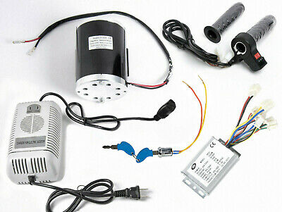 1000 W 48 V Motorreverse Speed Controllerkeylockchargerthrottle W Rev Switch