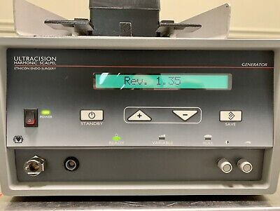 Ethicon Endo Surgery Ultracision Harmonic Scalpel Generator G110 With Footpedal