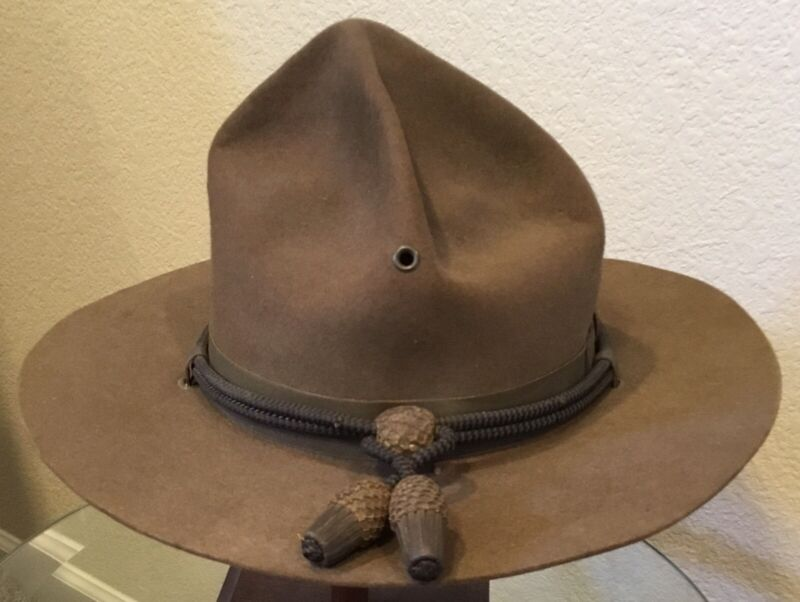 WW1, United States Army M1911 Officer's Minty Campaign Hat