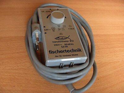 fischertechnik Transformator 812 - 220V 5VA auf 6,8V bis 1,8V - siehe Foto`s