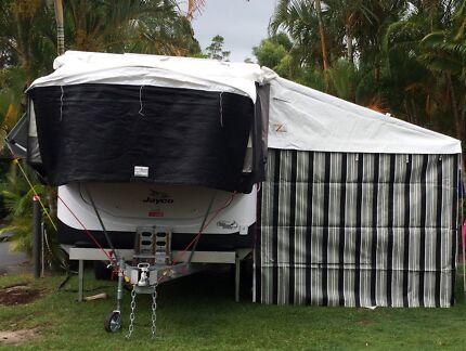 Jayco Swan Outback Camper 2014