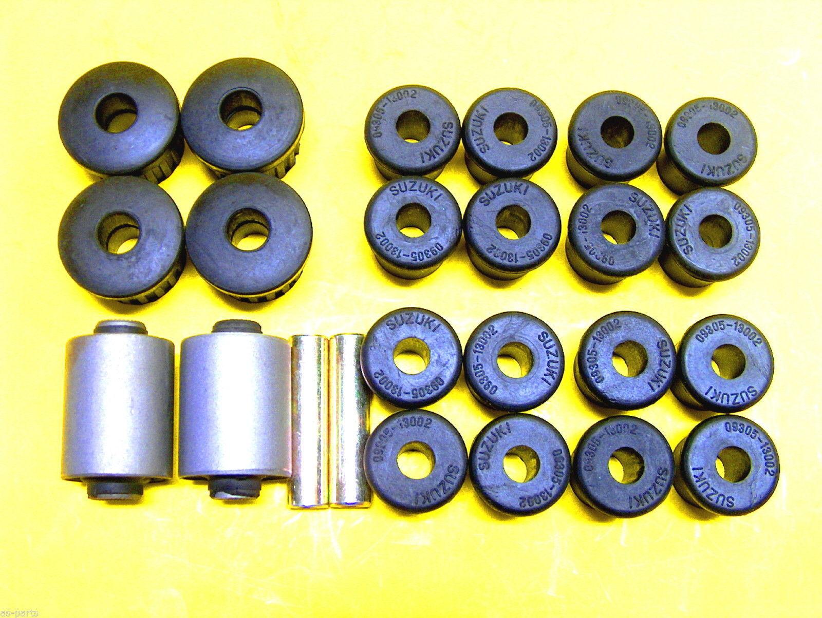 2X Blattfeder verstärkt Polybuchsen für Suzuki Santana Hinterachse Plattfeder