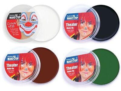Fantasy Skeleton Clown Weib Make up Halloween Face & Body Paint Theater Make-Up](Halloween Skeleton Body Paint)
