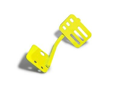 Neon Yellow  Driver Side Dead Pedal For Jeep Wrangler JK 2007-2018 Steinjager