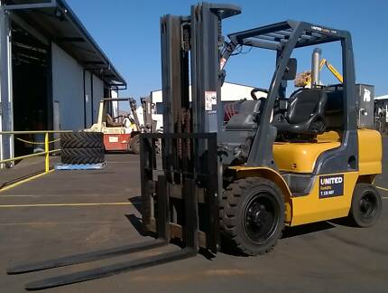 Nissan 3T Zone 1 Flameproof Forklift