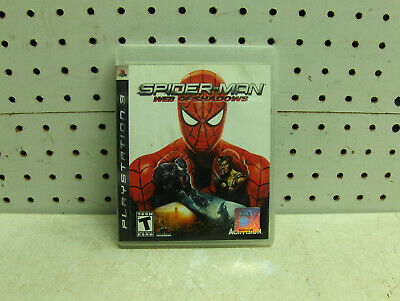 SPIDERMAN WEB OF SHADOWS PLAYSTATION 3