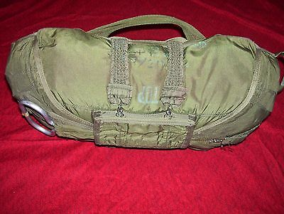 Parachute Military Chest Reserve 24 ft.Diameter Complete uncut lines