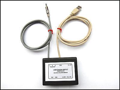USB Cat Kabel Potenzialgetrennt für Alinco DJ-X7