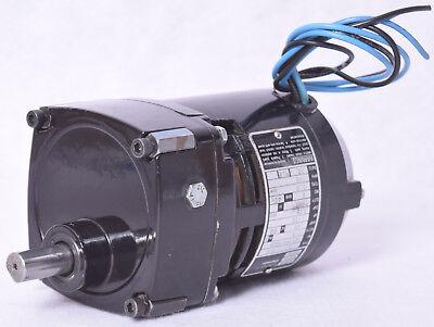 Bodine Electric Co. Gearmotor Nci-11d3