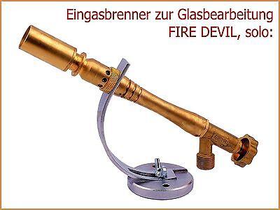 FIRE DEVIL Solo (Eingas Glasperlen-Brenner)