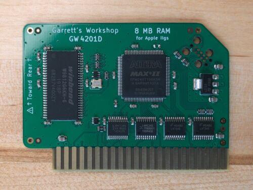 RAM2GS II (GW4201D) -- 8MB RAM for Apple IIgs ][gs