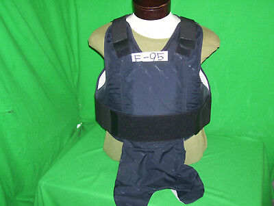 Safriland Body Armor Level II Bullet Proof Vest X Large-Short 2012 #E95 FREE 5X8