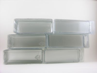 20 - Hot Wheels Plastic Car Cases - LARGE Blister Boxes (Brand new clamshells)