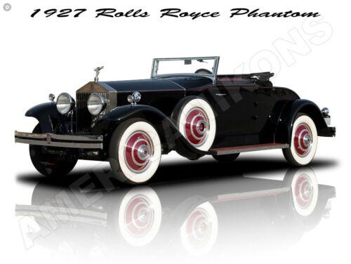 1927 Rolls Royce Phantom New Metal Sign: Fully Restored