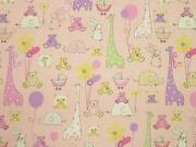 Baby Pink Fabric