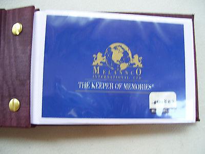 Happy 50th Anniversary Melannco Int. Brass Photo Album The Keeper Of Memories  (50th Anniversary Photo Album)
