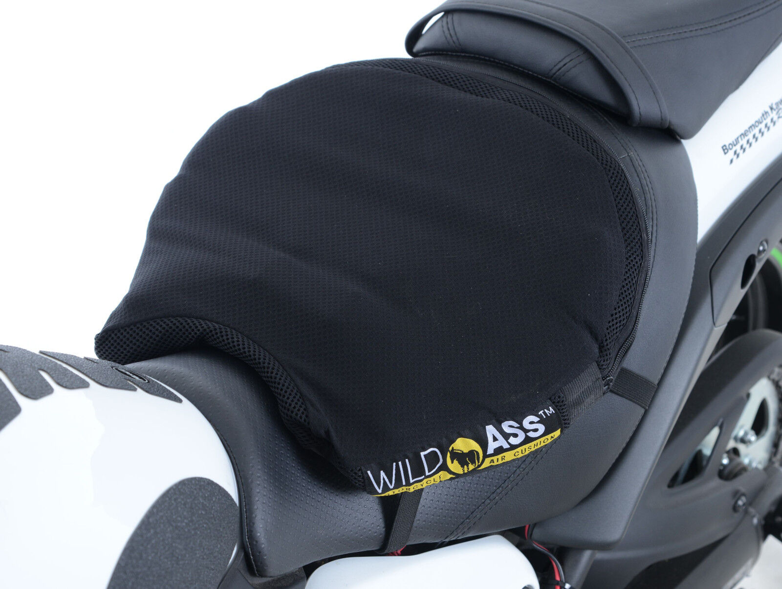 Details about Wild Ass Smart Lite Motorcycle Comfort Seat Cruiser Touring  Medium 39 5x36x5 cms