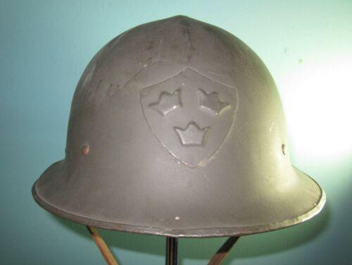 rare Swedish M23 army steel helmet casque Stahlhelm casco elmo 胄 шлеm WW2 WW1