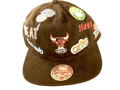 Basketball Snapback Cap mit Verein Logos  Neu&OVP