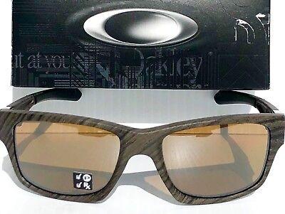 NEW* Oakley JUPITER Squared Woodgrain POLARIZED Bronze lens Sunglass