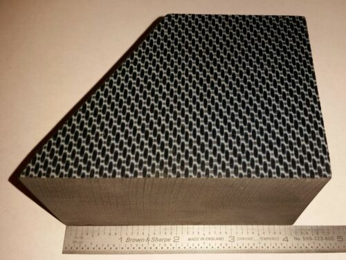 """Peek Carbon Fiber Blanks (Medical Grade) Approx. 4"""" long, 2.3"""" wide and 3"""" tall"""