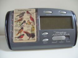Birdsong IdentiFlyer Alarm Clock with Card    Does Not Work Use For Parts