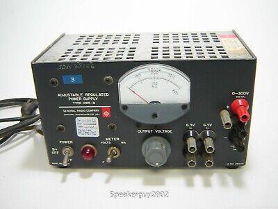 General Radio 1205-b Adjustable Regulated Tube Power Supply -- Kt