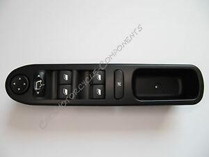 Schaltelement Fensterheber Schalter für Peugeot 307 vorne links 6554.KT Neu