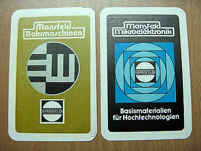 2 Taschenkalender Mansfeld Mikroelektronik und Mansfeld Bohrmaschinen 1990