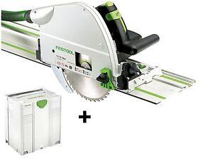 Festo Festool Tauchsäge TS 75 EBQ-Plus-FS 561512 mit FS1400/2 im Systainer Neu!