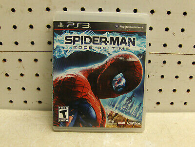 SPIDERMAN EDGE OF TIME PLAYSTATION 3 VIDEO GAME