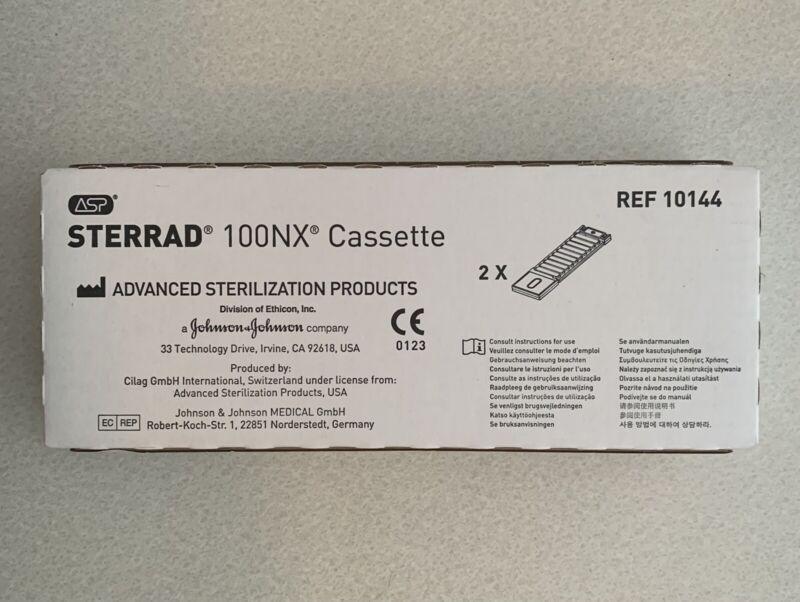 Case of 2 ASP Sterrad 10144 Cassette 100NX Exp 08/29/2021