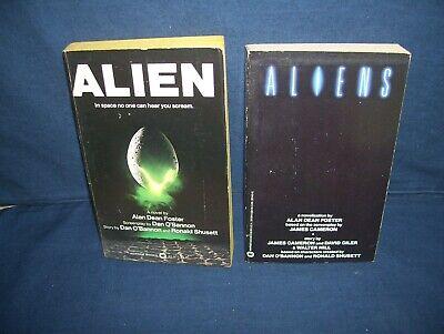 Alien and Aliens Paperback lot Alan Dean Foster Warner Books