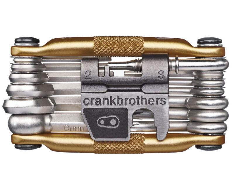 Crankbrothers M19 Bike Multi-Tool (Gold)