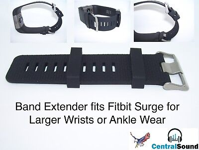 Band Extender for Fit Fitbit SURGE Extra Large Sized Wrist or Ankle Wear Make (Swimming Ankle Band)