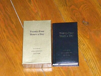 Alcoholics Anonymous  Extremely Rare Brand New  50Th Anniversary 24 Hours A Day