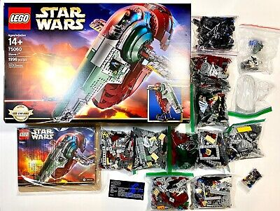 Lego Star Wars UCS Slave 1 - 75060 (100% Complete With Box And Manual) RETIRED