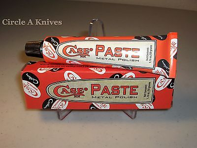 CASE KNIFE POLISHING PASTE / METAL POLISH - NEW ITEM FROM CASE KNIVES - 1.76 oz