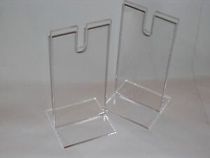PAIR-OF-CLEAR-ACRYLIC-PERSPEX-LARGE-SWORD-SABRE-DISPLAY-STANDS