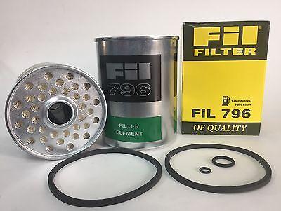 Fuel Filter Fit Massey Ferguson Cav Lucas Delphi 796 961048 2026p3708675m1 Bf884