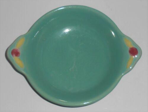 Coors Pottery Rosebud Green Fruit Bowl