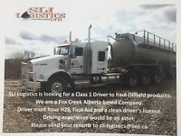 Looking for class 1 driver ASAP!