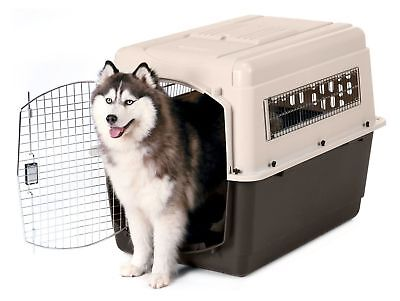 XXL Dog Travel Carrier Cage For Extra Large Dogs 70-90 LBS Pet Car Crate Kennel